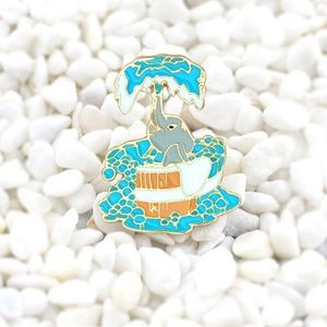 Jewelry - Elephant Enamel Pin